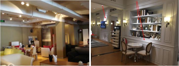家具店铺照明设计实例分析